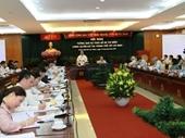 Cho ý kiến Đề án thí điểm chính quyền đô thị TPHCM