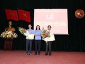 Lễ trao tặng Huy hiệu Đảng và Hội nghị chuyên đề Năm tăng cường và đổi mới công tác Dân vận