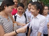 Học sinh lớp 10 thể hiện ý thức trách nhiệm cá nhân với đất nước