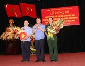 Lễ công bố quyết định của Chủ tịch nước về việc bổ nhiệm chức vụ Phó Viện trưởng VKSNDTC, Viện trưởng Viện kiểm sát quân sự Trung ương