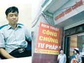 Hà Nội Trưởng phòng Tư pháp huyện Thường Tín bị bắt
