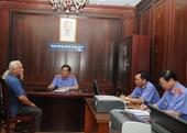 Viện trưởng VKSNDTC tiếp công dân