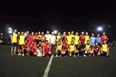 Giao hữu bóng đá báo Bảo vệ pháp luật – Đại học Kiểm sát Hà Nội