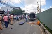 Sản phụ bị xe trộn bê tông cán chết, bé sơ sinh rớt ra đường