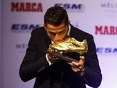 Ronaldo đoạt danh hiệu Chiếc giày vàng châu Âu