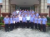 Viện trưởng VKSNDTC thăm và làm việc tại tỉnh Hậu Giang