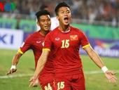 ĐT Việt Nam tăng một bậc ở BXH FIFA