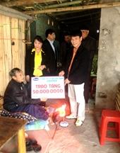 Vinamilk hỗ trợ xây nhà tình thương tại Thái Bình
