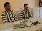 Công an Tân Biên bắt 2 đối tượng vận chuyển hàng lậu