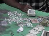 Cảnh sát 113 bắt được lượng ma túy lớn ở Sài Gòn