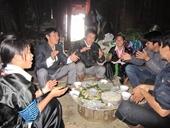 Hấp dẫn bánh dày ngày Tết của người Mông