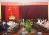 Lãnh đạo VKSNDTC làm việc với Tỉnh ủy Bắc Ninh