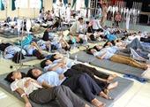 Hà Nội Hàng trăm công nhân nghi bị ngộ độc thực phẩm