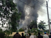 Thái Bình Cháy lớn tại công ty dệt may
