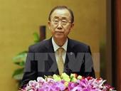 Tổng Thư ký Liên hợp quốc Ban Ki-moon dự kỳ họp quốc hội Việt Nam
