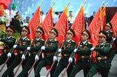 Tổ chức diễu binh, diễu hành nhân kỷ niệm 70 năm ngày Quốc khánh