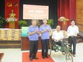 Viện kiểm sát nhân dân tối cao thăm và tặng quà tại Trung tâm điều dưỡng thương bệnh binh nặng Thuận Thành Bắc Ninh