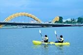 Thuyền kayak, phao ngồi, phao chuối xuất hiện tại sông Hàn