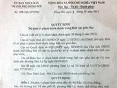 Khởi tố 2 giáo viên mầm non trói chân tay bé trai ở Quảng Bình