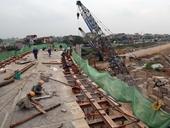 Chuẩn bị thông xe nút giao điều chỉnh cầu Thanh Trì và Quốc lộ 5