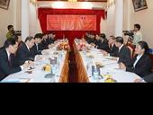 Hội đàm cấp cao giữa VKSNDTC Việt Nam và VKSNDTC Lào