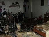 Hải Phòng Kẻ ngáo đá chém hàng xóm, phóng hỏa đốt 2 ngôi nhà