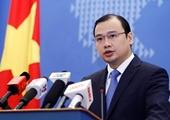 Người phát ngôn Bộ Ngoại giao Việt Nam Quân sự hóa Biển Đông diễn biến hết sức đáng lo ngại