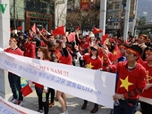 Người Việt tại Hàn yêu cầu Trung Quốc chấm dứt quân sự hóa ở Biển Đông