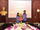 Bổ nhiệm chức vụ Phó Vụ trưởng Vụ hợp tác quốc tế và tương trợ tư pháp về hình sự