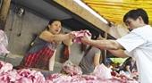 Cách nhận biết thịt lợn chứa chất cấm