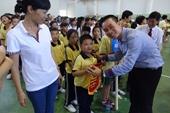 FrieslandCampina Việt Nam đồng hành cùng Ngày Hội thể thao cho trẻ em khuyết tật TP HCM