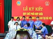Ký kết Quy chế phối hợp giữa TAND cấp cao và VKSND cấp cao tại Hà Nội
