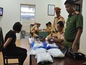 Xế hộp chở 5kg ma túy đá bị chặn ở cửa ngõ Hà Nội