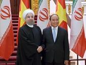 Thủ tướng Nguyễn Xuân Phúc tiếp đón Tổng thống Iran Hassan Rouhani