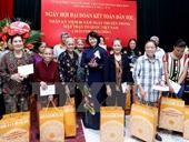 Phó Chủ tịch nước dự Ngày hội Đại đoàn kết toàn dân tộc tại Hà Nội