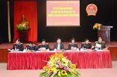 Lãnh đạo VKSNDTC nghe các VKSND cấp cao, VKSND T P Hà Nội và VKSND TP Hồ Chí Minh báo cáo kết quả công tác năm 2016