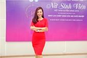 Á hậu Quý bà Thu Hương giao lưu chắp cánh ước mơ cùng Top 30 VMU 2016