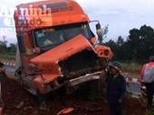 Xe container mất phanh, tài xế nhanh trí cứu nhiều người thoát nạn