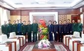Viện trưởng VKSNDTC chúc mừng ngày thành lập Quân đội nhân dân Việt Nam 22 12
