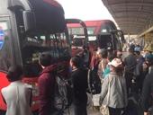 Hơn 100 xe đình công , từ chối đón khách ở bến Mỹ Đình