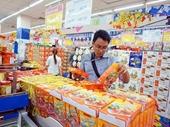 Không khí sắm Tết nhộn nhịp tại các siêu thị