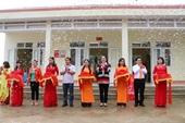 Khánh thành và bàn giao Nhà lớp học - Điểm trường Nà Nọi - Trường tiểu học số 2 Thị trấn Tân Uyên