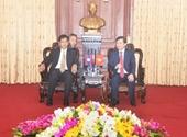 Viện trưởng VKSNDTC Việt Nam tiếp Thứ trưởng Bộ Tư pháp Lào