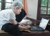 Cụ bà vừa được phong Bậc thầy Internet ở tuổi 97