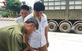 Tài xế container bị cướp bịt mắt, trói chân tay, tẩu tán 27 tấn hàng