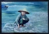 Lùm xùm án kỷ luật đối với tác giả bức tranh Biển chết ở Trà Vinh