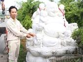 Trộm tượng Phật Di lặc từ xưởng đá về nhà thờ cúng