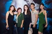 Hoa hậu Hoàng Kim hội ngộ dàn sao Việt tại buổi ra mắt phim Lời nguyền gia tộc