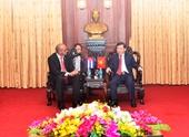 Viện trưởng VKSNDTC tiếp Đại sứ Cuba